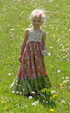 Download Peony's Sweetheart Maxi Dress Sewing Pattern | Featured Downloadable Sewing Patterns | YouCanMakeThis.com