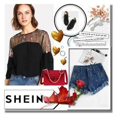"""""""Shein 9/IV"""" by hedija011 ❤ liked on Polyvore featuring Too Faced Cosmetics"""
