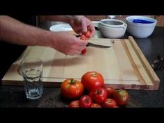 How to save tomato seeds (video tutorial).