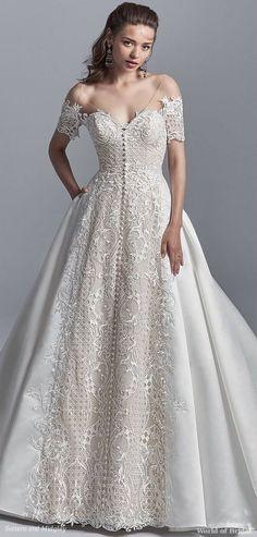 Sottero and Midgley Spring 2018 princess wedding dress