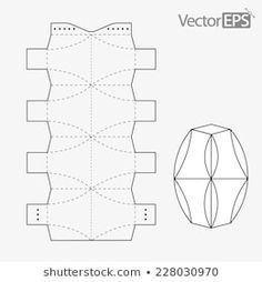 Diy Gift Box, Diy Box, Kirigami Templates, Paper Folding Techniques, Brazilian Embroidery Stitches, Geometric Origami, Printable Shapes, Cd Crafts, Box Patterns