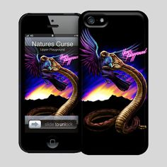 Upper Playground - Natures Curse Hard Case for iPhone 5 by Munk One #munkone #upperplayground @upperplayground #snake #bird #up #naturescurse #hardcase