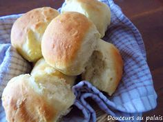 Douceurs au palais: Petits pains ultras rapides