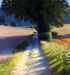 Andrew Gifford - Farm Track Towards Glyndebourne,...