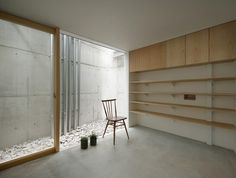 I love spaces that have been squeezed in through clever use of light wells and small outdoor spaces.