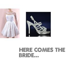 """Here comes the bride..."" by pancakepyrosis on Polyvore"
