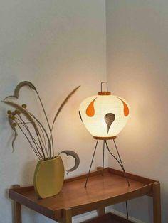 Vitra Akari lamp by Isamu Noguchi Noguchi Lamp, Isamu Noguchi, Interior Architecture, Interior Design, Wall Lights, Ceiling Lights, Japanese Artists, Bauhaus, Contemporary Furniture