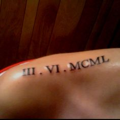 My tattoo for mom, when it was fresh, end of Feb. or March 2010.