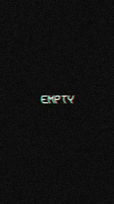 Is empty a feeling or is it just there... Glitch Wallpaper, Lockscreen Wallpaper Android, Iphone Lockscreen Wallpaper, Wallpaper Wallpapers, Tumblr Wallpaper, Drums Wallpaper, Cute Wallpapers Quotes, Drawing Wallpaper, Black Wallpaper Iphone Dark