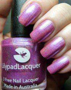 Lilypad Lacquer - Blooming Violets
