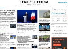 Video Periódicos económicos: Bruselas pedirá al Reino Unido 100.000 millones y JP Morgan se ira de Londres.