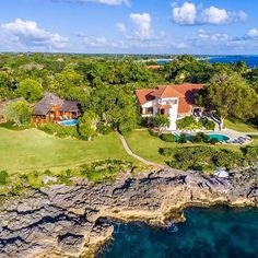 Drastically reduced from to more than Punta Aguila 15 & 16 are an unique opportunity to own almost oceanfront land at Casa de Campo. Is easily one of the most spectacular waterfront location in the entire resort. Lush Garden, Tropical Garden, Dream Mansion, Automatic Gate, Tropical Style, Do You Like It, Caribbean Sea, Acre, The Good Place