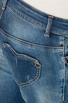 Silver Jeans Dawson Bell Flare Faded Medium Wash Denim Jeans 26 ...