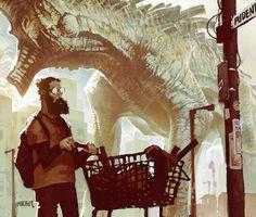 Inside the Artists Studio: Greg Broadmore Interview