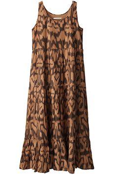 ヌキテパ  プリントドレス  税込価格 ¥17,850