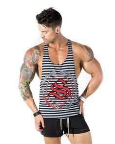 a9b4906e11125  strongliftwear Aesthetic T-Back V2 - Grey  aesthetic  singlets  fitness