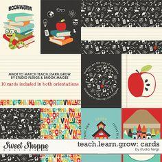 Free teach.learn.grow: Journal Cards | Studio Flergs