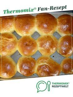 Milchbrötchen weich und süß von jkotter. Ein Thermomix ® Rezept aus der Kategorie Brot & Brötchen auf www.rezeptwelt.de, der Thermomix ® Community.