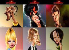 Caricatures-chanteurs