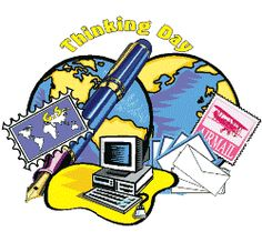 "Girl Scouts and Girl Guides around the world celebrate February as ""Thinking Day"". This lens will explain what Thinking Day is and how troops in the United States can celebrate Thinking Day. I hope to provide a few ideas for food, games,. Girl Scout Swap, Girl Scout Leader, Girl Scout Troop, Boy Scouts, Girl Scout Badges, Brownie Girl Scouts, Brownies Girl Guides, Girl Scout Activities, Girl Scout Camping"