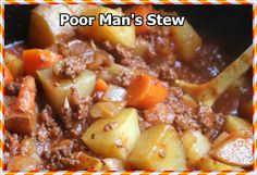 POOR MAN'S STEW | How to Cook Guide