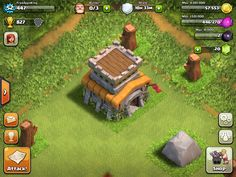Upgrading your Town Hall unlocks new defenses, buildings, traps and much more. Clas Of Clan, Cartoon House, Sully, Town Hall, Monster Trucks, Video Games, Fun, Gems, Houses