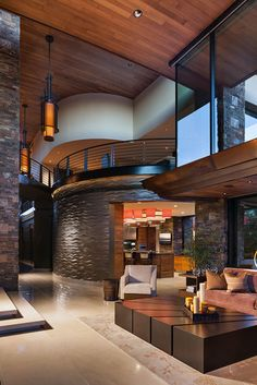 - contemporary - living room