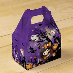 Top 12 trending halloween witches designs:   Happy Halloween Favor Box - click/tap to see the slideshow for related designs