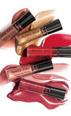 Suaves tonos neutros. Bonitos rosas. Rojos encantadores. Jugosos tonos baya. Conócelos con los brillos de labios #NouriShinePlus.
