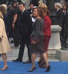 La madre de Letizia.