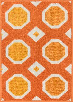 Terrace HTC 07 Orange / Ivory Rug