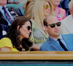 The Duke and Duchess of Cambridge attend day thirteen of the Wimbledon Tennis Championships at the All England Lawn Tennis and Croquet Club on July 15, 2018 in London, England.
