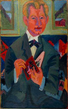 Ernst Ludwig Kirchner (Aschaffenburg 1880-1938 Frauenkirch / Davos) Porträt…