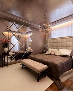 Interior design inspirations for your luxury bedroom. Check more at luxxu.net