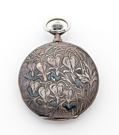 A FINE SILVER MANUAL WINDING POCKET WATCH, CIRCA 1910