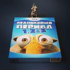 "Обзор Blu-ray ""Ледниковый период 1, 2 & 3"" / Review ""Ice Age 1, 2 & 3"""