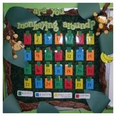 Cute for behavior in jungle themed classroom!