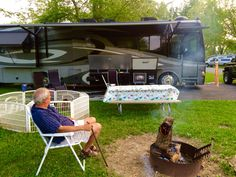Camping at St. Marys State park 5/2015