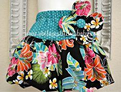 Hawaiian Paradise Bubble skirt