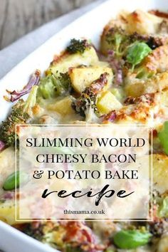 Super easy syn free cheesy bacon potato bake slimmingworld slimmingworldrecipe synfree synfreerecipe ultimate decks for outdoor living Slimming World Dinners, Slimming World Chicken Recipes, Slimming World Syns, Slimming Eats, Slimming Recipes, Slimming World Breakfast, Slimming World Lunch Ideas, Slimming World Puddings, Sliming World