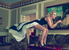 Olympic Skier Lindsey Vonn, by Annie Leibovitz (Vogue 2013)
