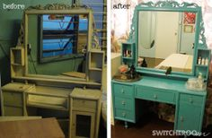 um, yes please! I have an old vanity that needs an uplift, think adding dowels for extra height will do the trick!