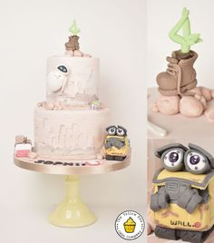 Cute #disney #wall-e inspired #cake