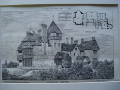Sandrock, the Residence of the Baroness von Roemer , Hastings, England, UK, 1880, W. Hay Murray