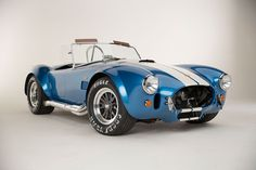 Shelby Cobra 427 50Th Anniversary Edition Front Three Quarter 1 - Shelby American will build a limited run of 50 continuation cars to commemorate the 50th anniversary of the big block Cobra. Like other Shelby continuation models, the Shelby Cobra 427 50th Anniversary will be sold as a rolling chassis sans drivetrain and come with a 1965 MSO (manufacturer's statement of origin).