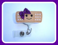 Labor and Delivery Nurse Badge Reel ID Holder Retractable Badge Reel Badge Buddy Pediatric HAT ONLY Add A Nurse Hat to Felt Badge Reel