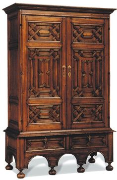 Hacienda…  Perfect piece in this type of architectural style home. Ebanista Mudejar Armoire