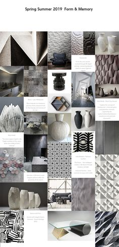SS19 home decor colors trends #moodboard