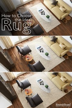 Get Tips On Rug Size And Placement Recommendations For Modern Living Rooms,  Dining Rooms And Bedrooms With Our Helpful Guides.