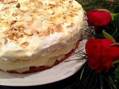 Birnen-Wein-Torte - die perfekte Torte  für festliche Anlässe